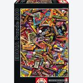 500 pcs - Candy Bars - Genuine (by Educa)