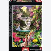 500 pcs - Waterfall Fairies (by Educa)