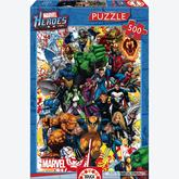 500 pcs - Marvel Heroes - Marvel (by Educa)