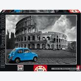 Jigsaw puzzle 1000 pcs - Coliseum, Rome - Black and White (by Educa)