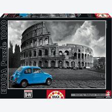 Jigsaw puzzle 1000 pcs - Coliseum, Rome - Black and White (by Educa)