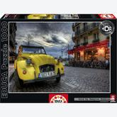 Jigsaw puzzle 1000 pcs - Dusk in Paris - Genuine (by Educa)