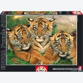 500 pcs - Tigers (by Educa)