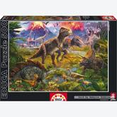 500 pcs - Dinosaur Gathering (by Educa)