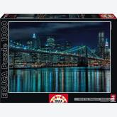 Jigsaw puzzle 1000 pcs - Manhattan at Night (by Educa)