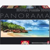 Jigsaw puzzle 1000 pcs - Mahe Island, Seychelles - Panorama (by Educa)