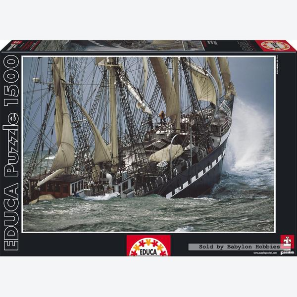 1500 Pcs Sailing Ship Belem By Educa Babylon