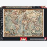1500 pcs - Political Map of the World (by Educa)