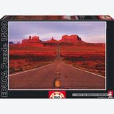Jigsaw puzzle 1500 pcs - Monument Valley Road (by Educa)