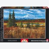 Jigsaw puzzle 1500 pcs - Denali National Park (by Educa)