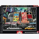 Jigsaw puzzle 4000 pcs - New York Theatre - Black and White (by Educa)