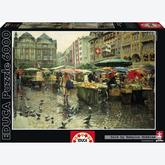 Jigsaw puzzle 6000 pcs - Produce Market, Basel (by Educa)