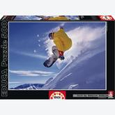 500 pcs - Snowboard - Genuine (by Educa)