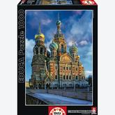 1000 pcs - Church of the resurrection of Christ, St Petersburg - Genuine (by Educa)