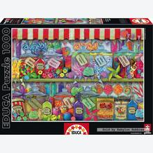 Jigsaw puzzle 1000 pcs - Candy Shop - Genuine (by Educa)