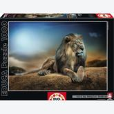 Jigsaw puzzle 1000 pcs - His Majesty - Genuine (by Educa)