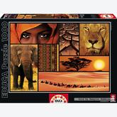 1000 pcs - Colours of Africa (by Educa)