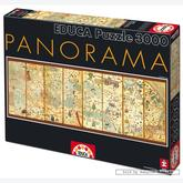 3000 pcs - Map of the World 1375 - Panorama (by Educa)