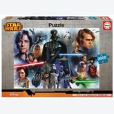 Jigsaw puzzle 3000 pcs - Star Wars - Star Wars (by Educa)