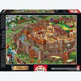 Jigsaw puzzle 1000 pcs - Middle Ages - Stories of the History (by Educa)