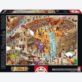 1000 pcs - Ancient Rome - Stories of the History (by Educa)