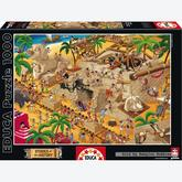 1000 pcs - Ancient Egypt - Stories of the History (by Educa)