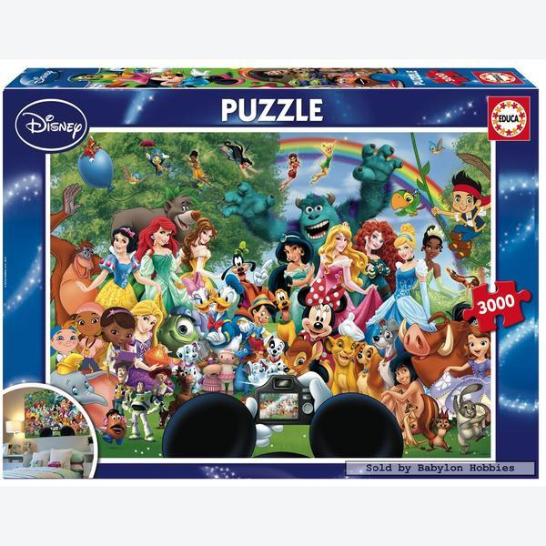 3000 Pcs The Marvellous World Of Disney Ii Disney By