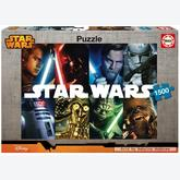 Jigsaw puzzle 1500 pcs - Star Wars Legends - Star Wars (by Educa)