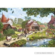 Jigsaw puzzle 1000 pcs - Hop Country - Steve Crisp (by Gibsons)