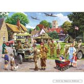 Jigsaw puzzle 1000 pcs - Preparations for D-Day - Kevin Walsh (by Gibsons)