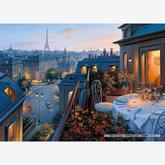 Jigsaw puzzle 1000 pcs - An Evening in Paris - Eugene Lushpin (by Gibsons)