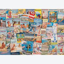 Jigsaw puzzle 1000 pcs - Robert Opie - Happy Holidays - Memories (by Gibsons)