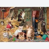 Jigsaw puzzle 1000 pcs - Kitten Capers - Steve Read (by Gibsons)