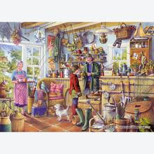 Jigsaw puzzle 1000 pcs - Tony Ryan - The Fishing Shed (by Gibsons)