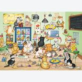 Jigsaw puzzle 1000 pcs - Purrfect Chocolate - Linda Jane Smith (by Gibsons)