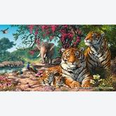 Jigsaw puzzle 1000 pcs - Tiger Sanctuary - Steve Read (by Gibsons)