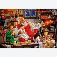 Jigsaw puzzle 2000 pcs - Larry Hersberger - Calling the Sleigh (by Gibsons)