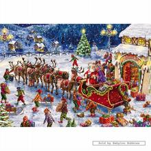 Jigsaw puzzle 150 pcs - Santas Little Helpers - Marcello Corti (by Gibsons)