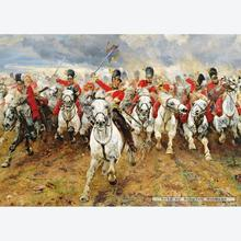 Jigsaw puzzle 1000 pcs - Waterloo - Scotland Forever (by Gibsons)