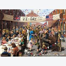 Jigsaw puzzle 1000 pcs - VE Day - Kevin Walsh (by Gibsons)