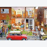1000 pcs - Steve Noon - Memory Lane - Our House 1960s (by Gibsons)