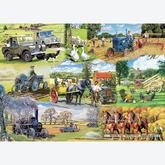 Jigsaw puzzle 1000 pcs - Farming Legends - Trevor Mitchell (by Gibsons)