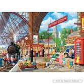 Jigsaw puzzle 1000 pcs - Awaiting Departure - Derek Roberts (by Gibsons)