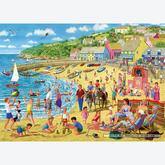 Jigsaw puzzle 1000 pcs - Sarah Adams - Sun and Sandcastles (by Gibsons)