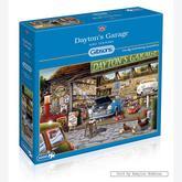 Jigsaw puzzle 1000 pcs - Hiro Tanikawa - Dayton's Garage (by Gibsons)