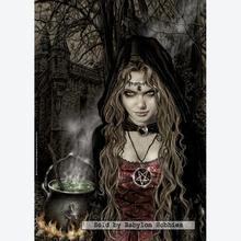 Jigsaw puzzle 500 pcs - Witch - Victoria Frances (by Heye)