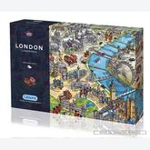 Jigsaw puzzle 1000 pcs - Maria Rabinky - London Landmarks (by Gibsons)