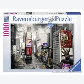Jigsaw puzzle 1000 pcs - Times Square, New York - Black and White (by Ravensburger)