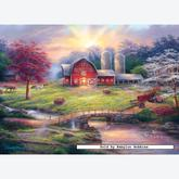 Jigsaw puzzle 1000 pcs - Anticipation of the Day Ahead (by Masterpieces)