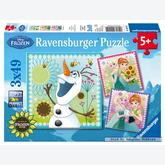 49 pcs - Frozen fever - Disney (by Ravensburger)